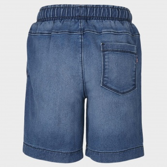 U.S POLO KIDS Denim Shorts