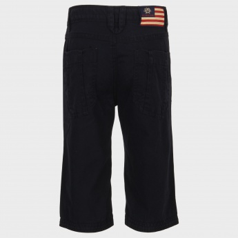 U.S. POLO ASSN. Solid Casual Shorts