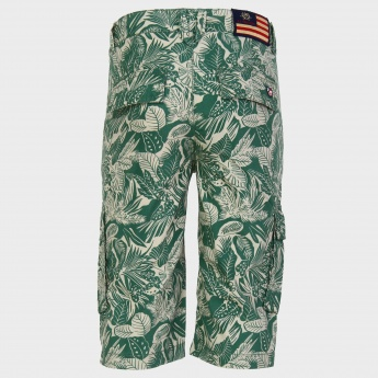 U.S. POLO ASSN. Leaf Print Shorts