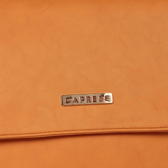 CAPRESE Tan Crease Handbag
