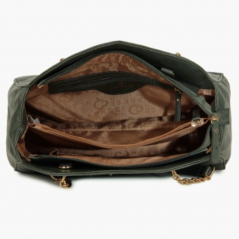 CAPRESE Pebble Finish Handbag