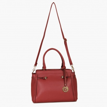 CAPRESE Buckle Braid Handbag
