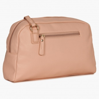 CAPRESE Nude Braid Slingbag