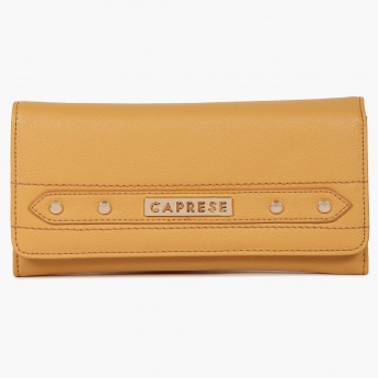 CAPRESE Button Sheen Wallet