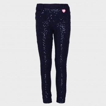 BARBIE Sequined Jeggings