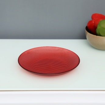Fatum Textured Glass Side Plate
