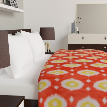 Luxur Printed Double Bed Blanket