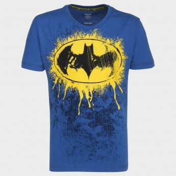 KIDSVILLE Batman Print Cotton T-shirt