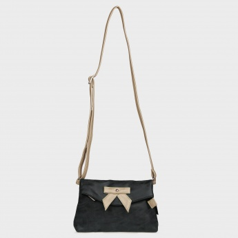 GINGER Bow Detail Sling Bag