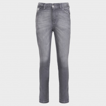 GINI & JONY Whiskered Stonewashed Jeans
