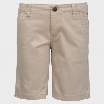 GINI & JONY Solid Casual Shorts