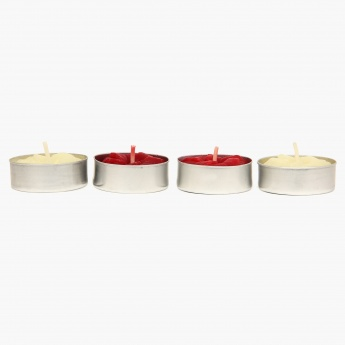 Redolance Decorative Woody Spice T-Light- Set Of 4