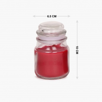 Redolance Scented Jar Candle- Set Of 2 - 9 CM