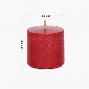 Redolance Scented Votive Candle- Set Of 6 - 3.8 X 3.6 CM