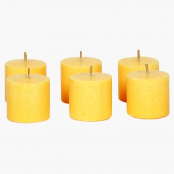 Splendid Redolance Votive Candle- Set Of 6 - 4 CM