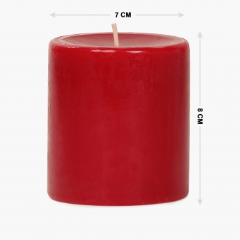 Redolance Solid Pillar Candle - 8 CM