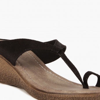 RAW HIDE Shimmer Classic Medium Heels Sandals