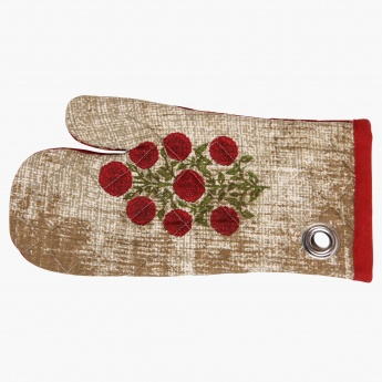 India Modern Printed Oven Mitten-Set Of 2