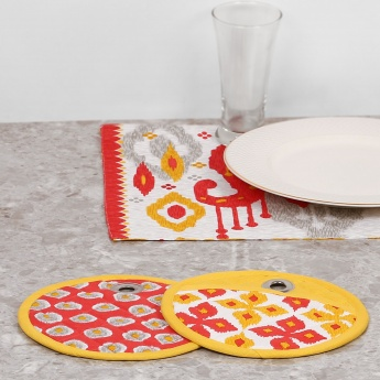 Remaster Printed Pot Holder- Set Of 2