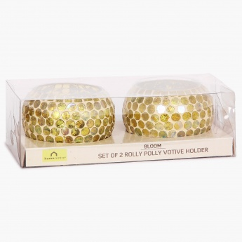 Splendid Rolly Polly Votive- Set Of 2