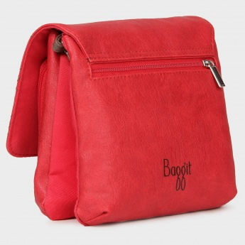 BAGGIT Flap Over Sling Bag