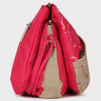BAGGIT Triple Sack Sling On Purse