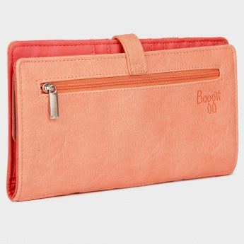 BAGGIT Single Fold Flap Lock Wallet