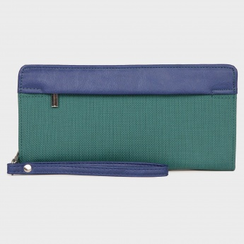 BAGGIT Zip-Up Book Fold Wallet