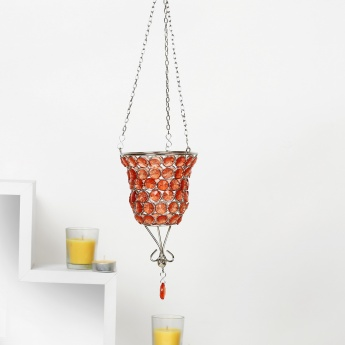 Splendid Cone Hanging T-Light Holder