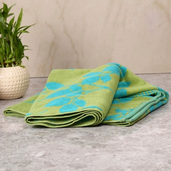 HOME CENTRE Jacquard Bath Towel