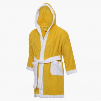 City Goes Wild Hooded Kids Bathrobe