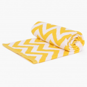 City Goes Wild Chevron Bath Towel