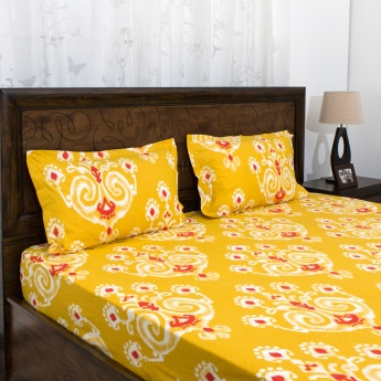 Mandarin Double Bedsheet Set