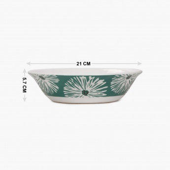 Coastal Living Printed Serving Bowl