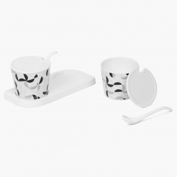 Forest Forever Condiment Set With Stand-2 Pcs.