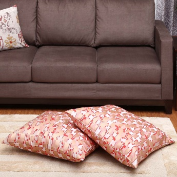Gala Jacquard Cushion Cover- Set Of 2 - 65 x 65 CM