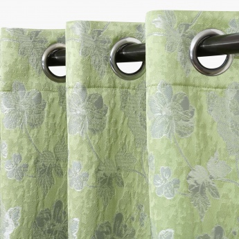 Matrix Jacquard Door Curtain