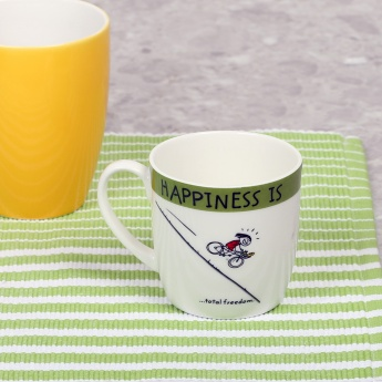 Happiness Is Total Freedom Mug