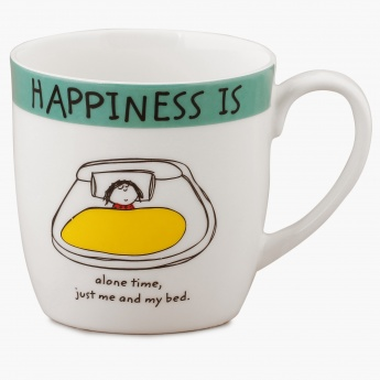 Happiness Is Alone Time Mug
