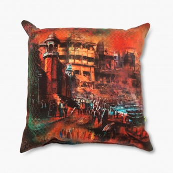 Aurora Festive Filled Cushion - 30 X 30 CM