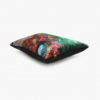 Exotic Aurora Nawab Filled Cushion - 50 x 30 cm