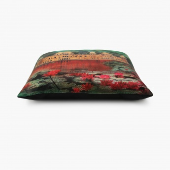 Aurora Neermahal Filled Cushion - 45 X 45 CM
