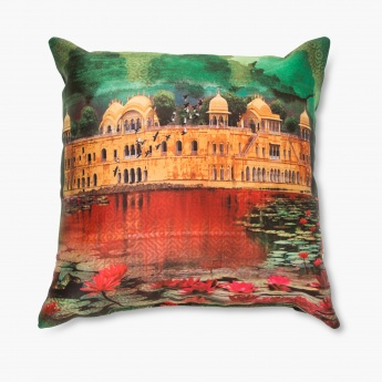 Aurora Neermahal Filled Cushion - 30 X 30 CM