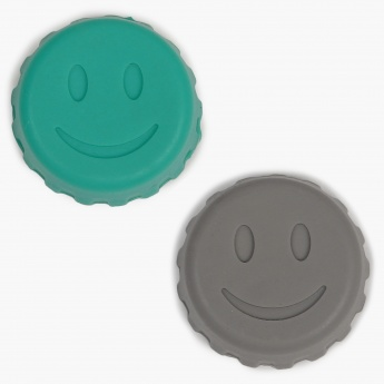 Cilantro Silicone Bottle Caps- Set Of 4