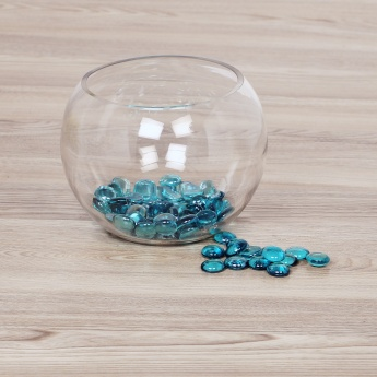 Splendid Redolence Ocean Blue Glass Pebbles
