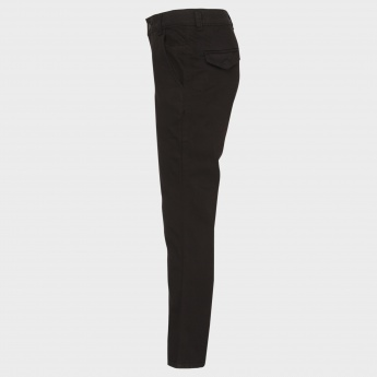 GINI & JONY Solid Slim Fit Pants