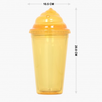 City Goes Wild Straw Sipper Bottle- 500 ml.