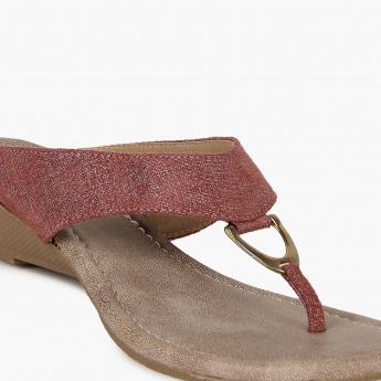 RAW HIDE Mini-Wedge Heels