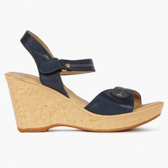 RAW HIDE Velcro Closure Heels