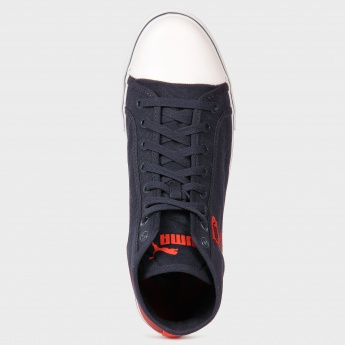 PUMA Canvas Ankle Length Lace-Up Shoes